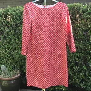 Brooks Brothers 346 Red Dress Size 6